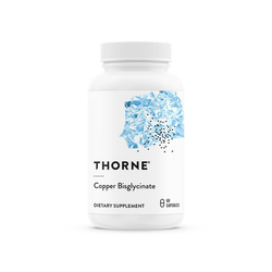 Thorne Copper Bisglycinate, 60 kapslar