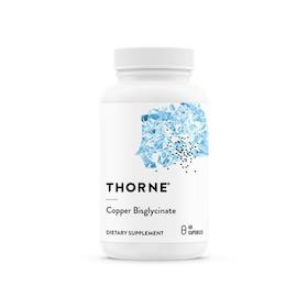 Thorne Copper Bisglycinate, 60 kapslar
