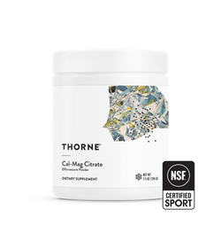 Thorne Cal-Mag Citrate Powder, 214 g