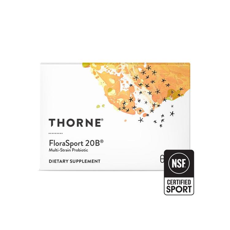 Thorne FloraSport 20, 30 kapslar