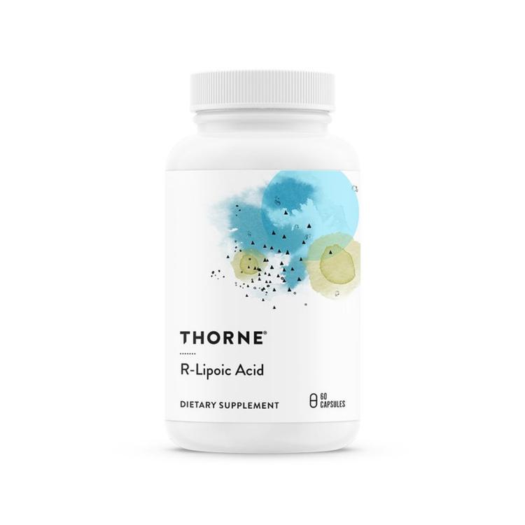 Thorne R-lipoic Acid, 60 kapslar