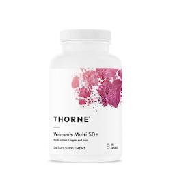 Thorne Women's Multi 50+, 180 kapslar
