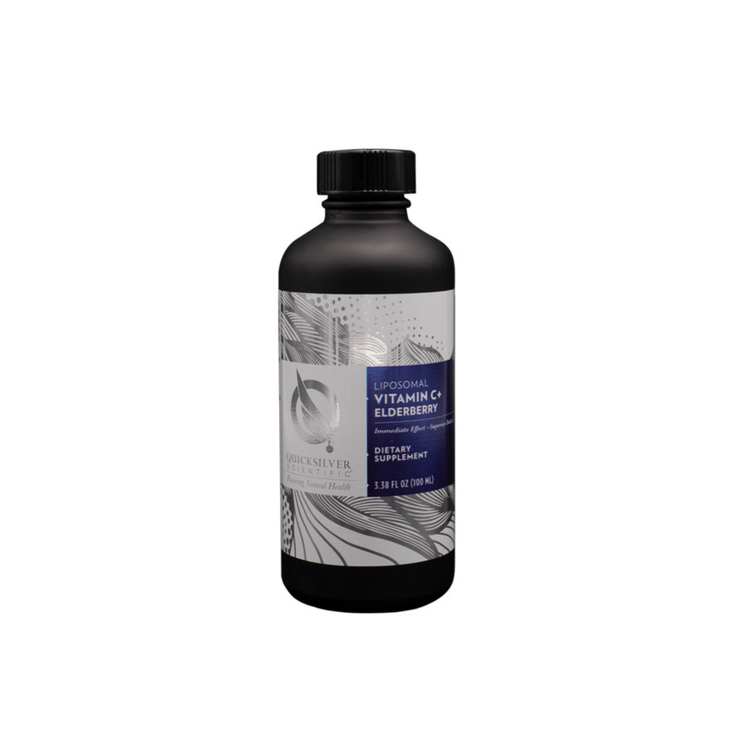 Quicksilver Liposomal C-Vitamin med fläder,100ml