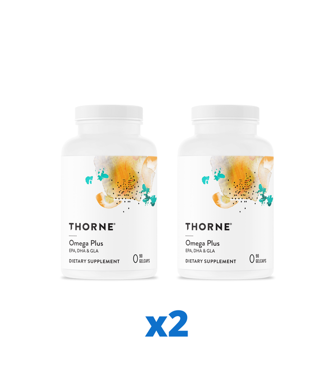 Thorne Omega Plus, 90 kapslar