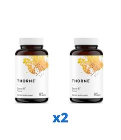 2 x Thorne Sacro-B, 60 kapslar
