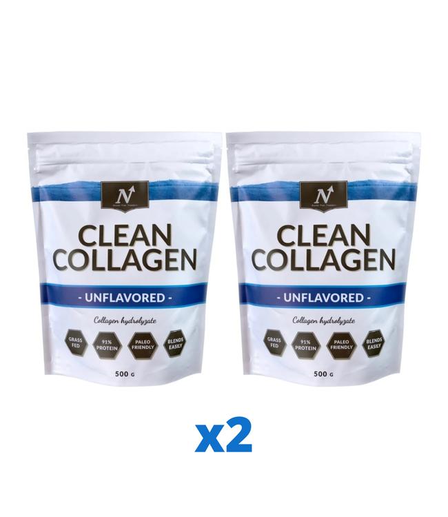2 x Nyttoteket Clean Collagen, 500g