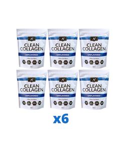 6 x Nyttoteket Clean Collagen, 500g