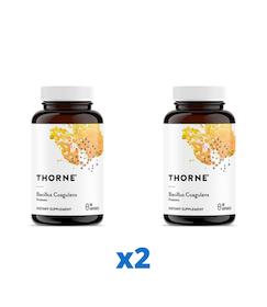 2 x Thorne Bacillus Coagulans, 60 kapslar