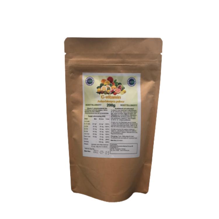 C-Vitamin Askorbinsyra, 200g