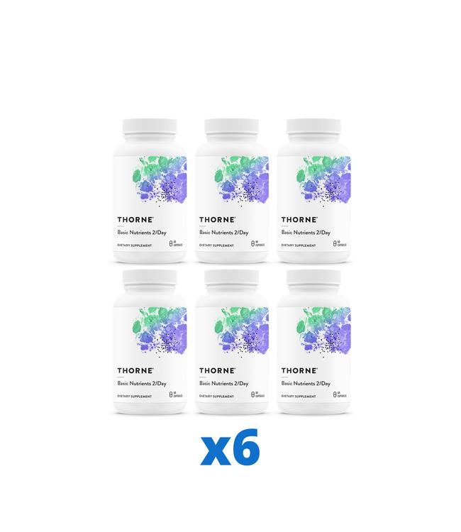 Thorne Basic Nutrients 2/Day, 60 kapslar