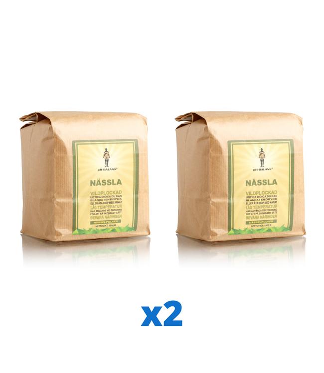 2 x pH-Balans Nässelpulver, 1 kg