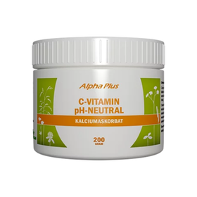 Alpha Plus C-vitaminpulver pH-neutral 200 g