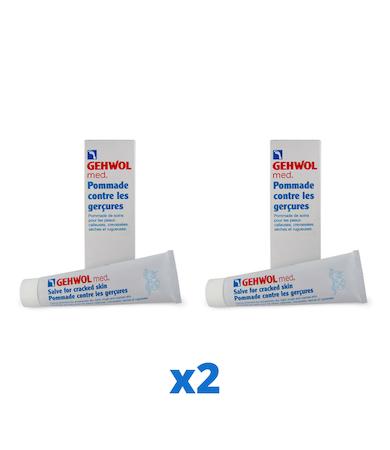 Gehwol Salve Cracked Skin för Sprucken Hud, 125ml