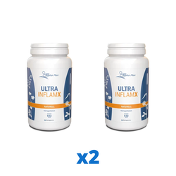 2 x Alpha Plus UltraInflamX Naturell, 632 g