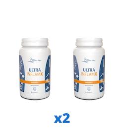 2 x Alpha Plus UltraInflamX Naturell, 632 g