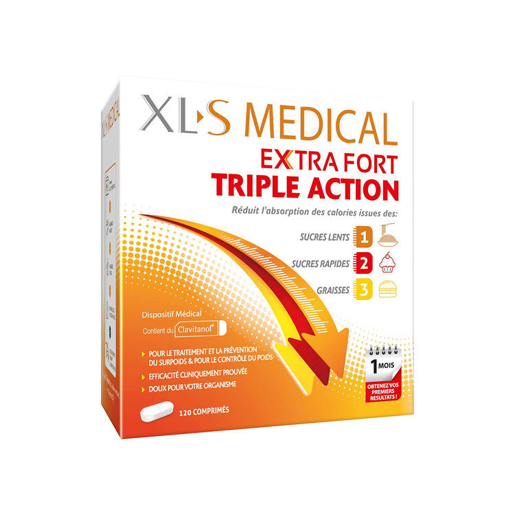 XLS Medical Max Strength, 120 tabletter