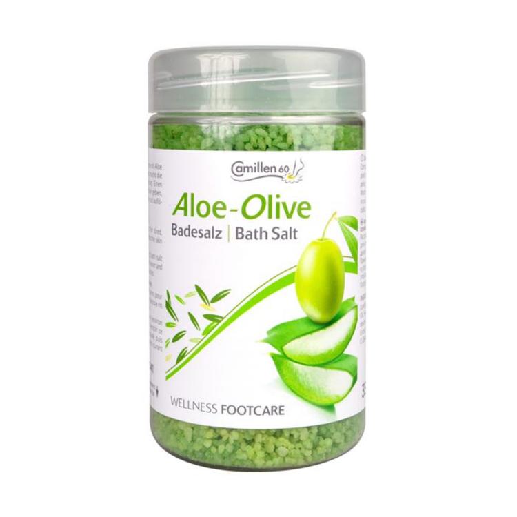 Camillen Fotsalt aloe/oliv 350 gr