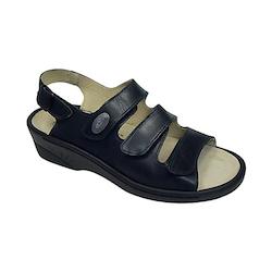 Vogelsang Sandal med utbytbar sula, svart