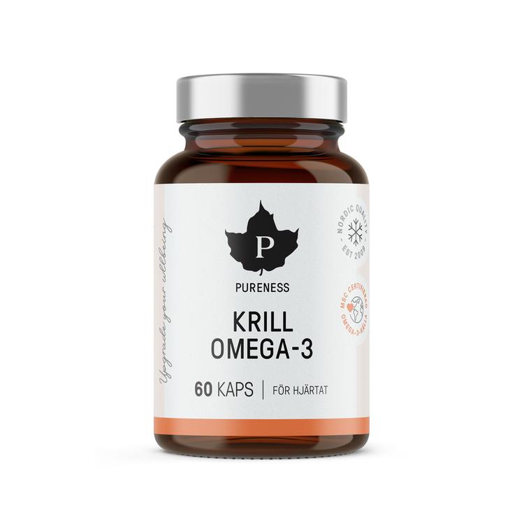 Pureness Krill Omega-3, 60 kapslar