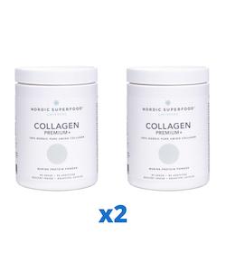 2 x Nordic Superfood Collagen Premium+ 300g