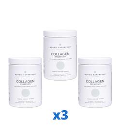 3 x Nordic Superfood Collagen Premium+ 300g