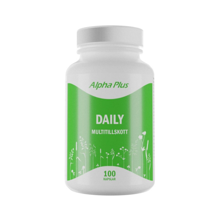 Alpha Plus Daily, 100 kapslar