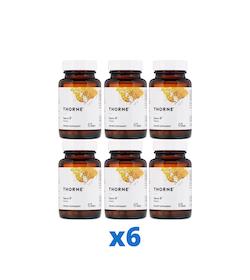 6 x Thorne Sacro-B, 60 kapslar
