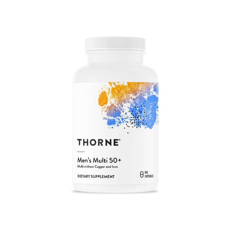 Thorne Men's Multi 50+ 180 kapslar