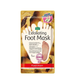 Purederm Exfoliating Foot Mask, 1 par