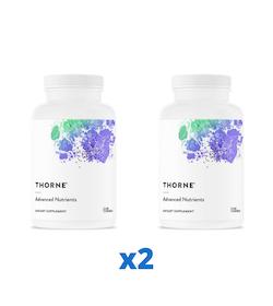 2 x Thorne Advanced Nutrients, 240 kapslar