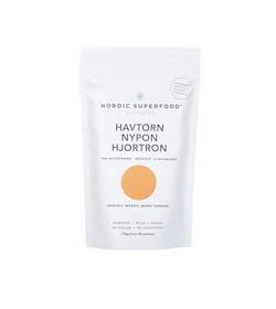 Nordic Superfood Yellow - Havtorn, Nypon & Hjortron 80 g
