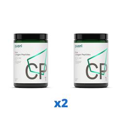 2 x Puori CP1 Kollagenpeptider, 300g