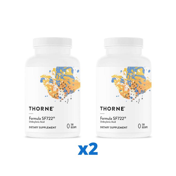2 x Thorne SF722 Formula, 250 kapslar
