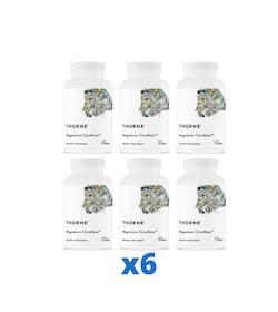 6 x Thorne Magnesium Citramate, 90 kapslar