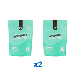 2 x The Friendly Fat Company C8 MCT Powder with Acacia Fiber, 260g