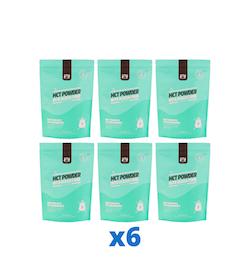6 x The Friendly Fat Company C8 MCT Powder with Acacia Fiber, 260g