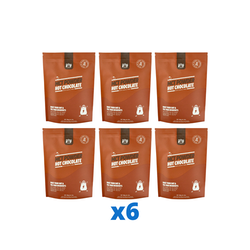 6 x The Friendly Fat Company C8 MCT-pulver med chokladsmak, 260g