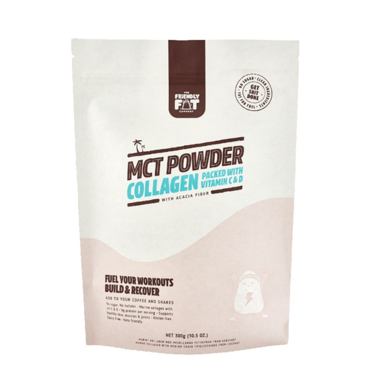 Friendly Fat Company MCT Powder Collagen, 300g