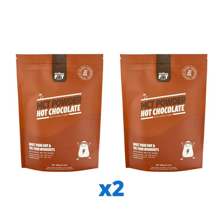 Friendly Fat Company C8 MCT-Powder Chocolate, 260g
