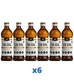 6 x Nyttoteket C8 Oil, 500ml