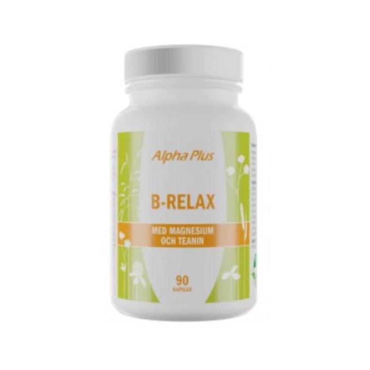 Alpha Plus B-Relax, 90 kapslar