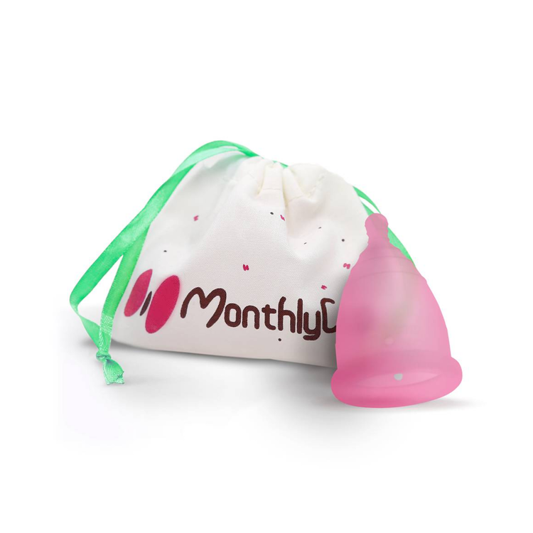 MonthlyCup Menskopp Pink Topaz
