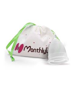 MonthlyCup Menskopp Transparent