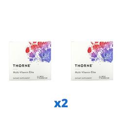 2 x Thorne Multi-Vitamin Elite, 2x90 kapslar