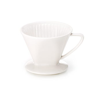 Hållare till kaffefilter i porslin