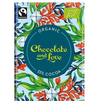 Chocolate & Love - Seasalt 55 % - 80 g