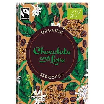 Chocolate & Love - Coffee 55 % - 80 g