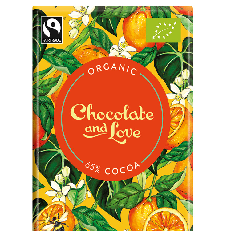Chocolate & Love - Orange 65% - 80 g
