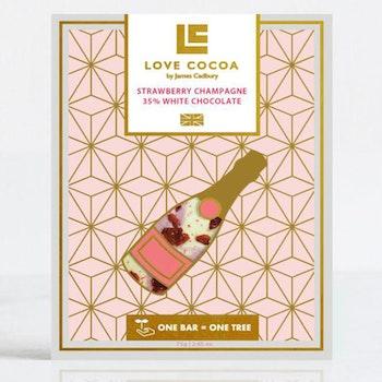 Love Cocoa - Strawberry Champagne - 75 g