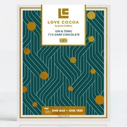Love Cocoa - Gin & Tonic - 75 g